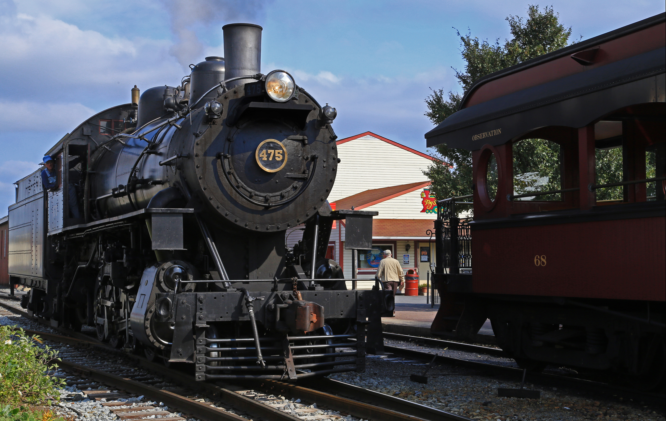 Strasburg (PA) United States  City pictures : USA – Pennsylvania – Strasburg Rail Road – Locomotive Number 475